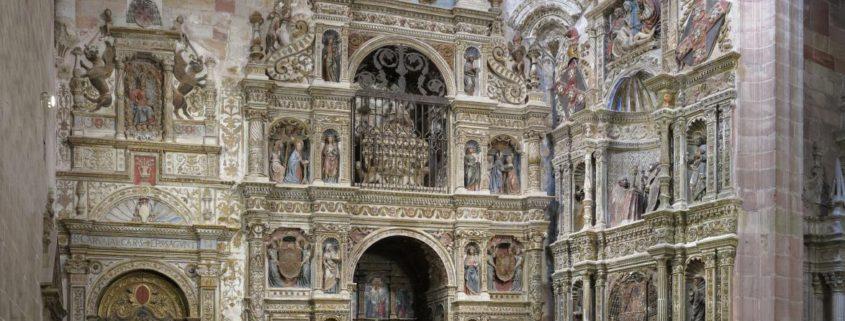 Retablo de Santa Librada, situado en la catedral de Sigüenza (Guadalajara).