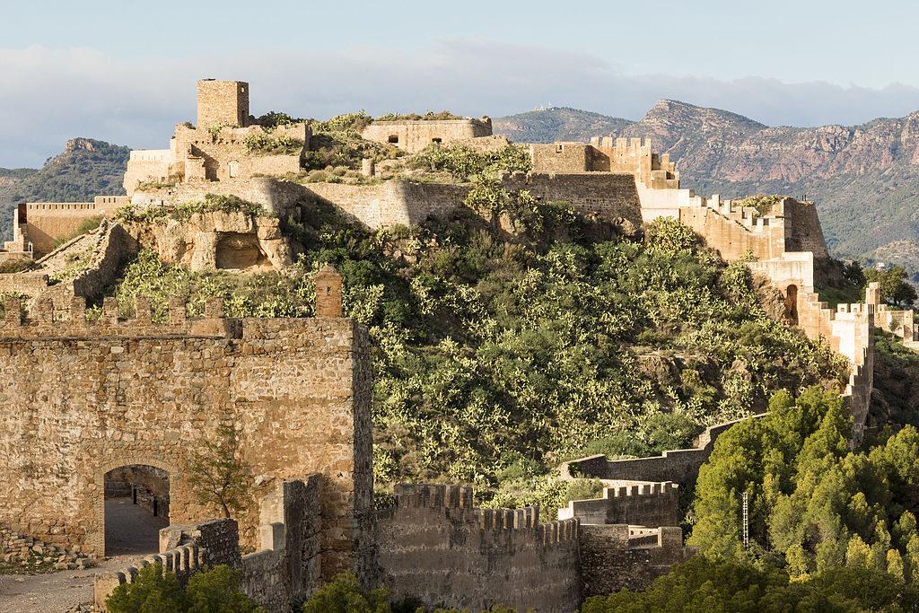 Imagen general del Castillo de Sagunto, en Valencia.