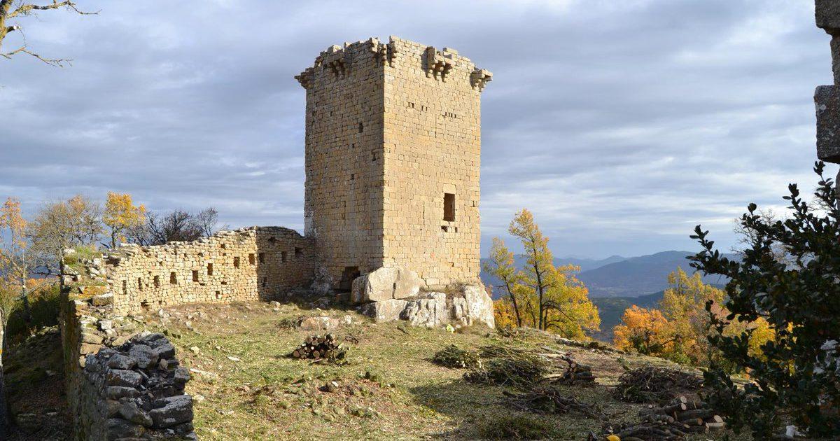 Castillo de Roita (Zaragoza)