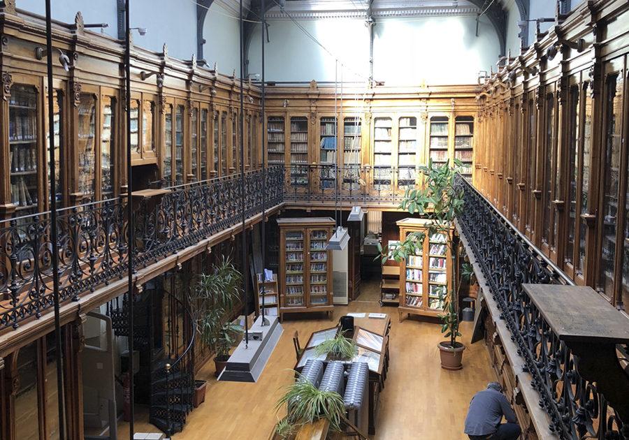 Vista de la Biblioteca Histórica