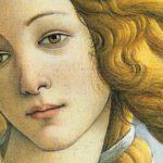 """Detalle de """"""""El nacimiento de Venus"""", de Botticelli""""."""