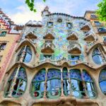 La fachada de la Casa Batlló después de su reciente restauración.