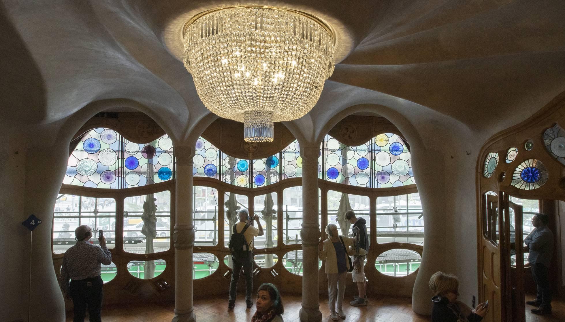 Lámpara de la Casa Batlló.